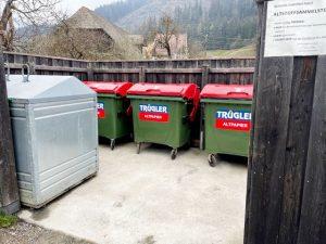 """Schlaue Trügler-Mülltonnen mit Hightech-Sensor """"ANDI"""" für Murau"""